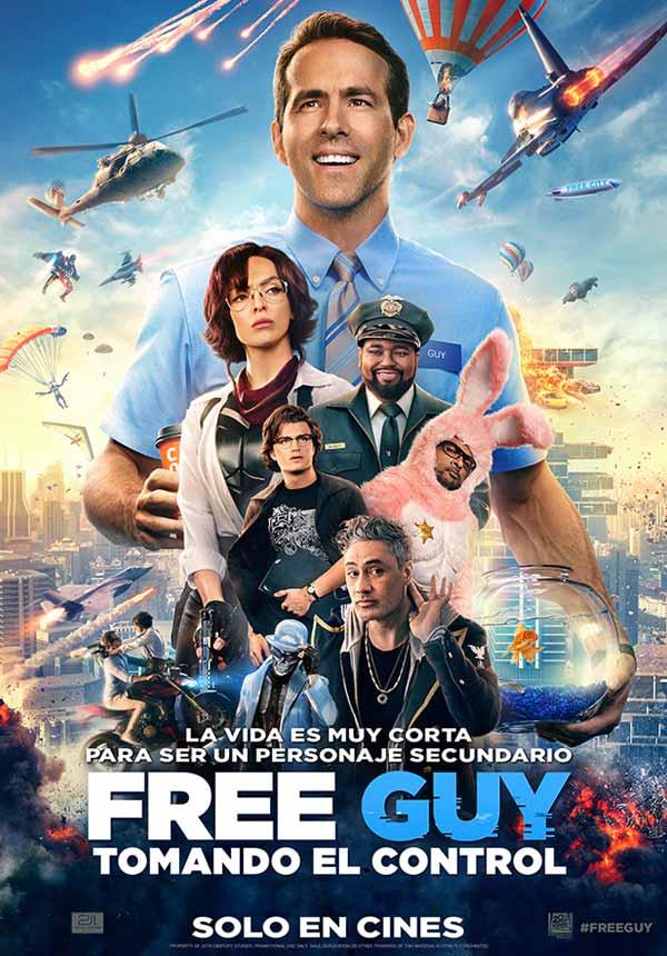Free Guy: Tomando El Control (Esp)